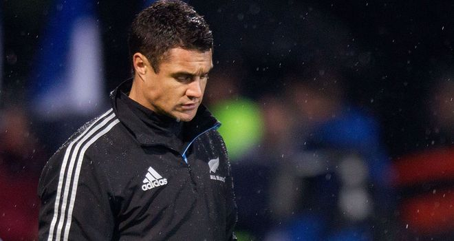 Dan Carter: Calf injury the latest setback for All Blacks fly-half