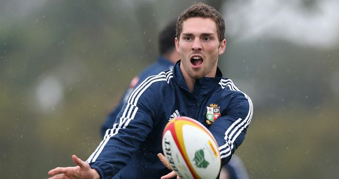 George North: Hoping for early success with Northampton