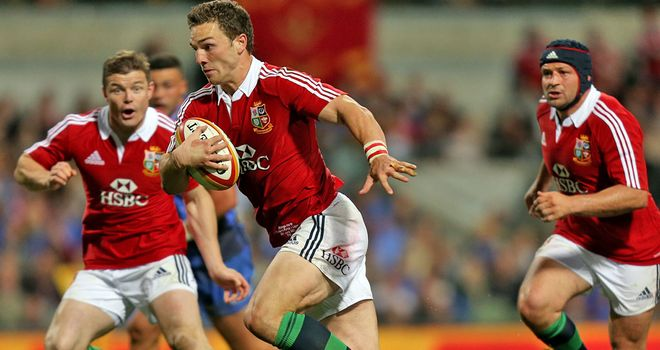 George North: Wales wing in Brisbane fitness race