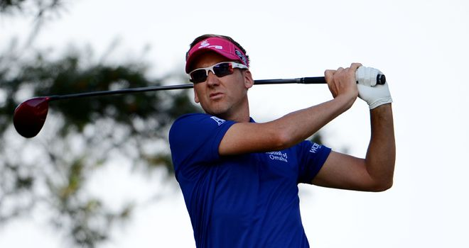 Ian Poulter: Struggled to find Friday's form in completeing his second round