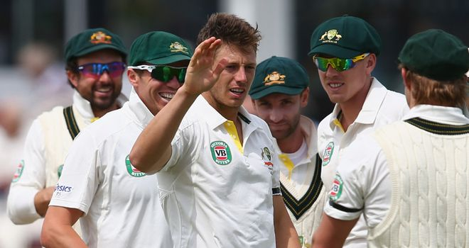 James Pattinson: Warmed up with three wickets in Somerset's second innings