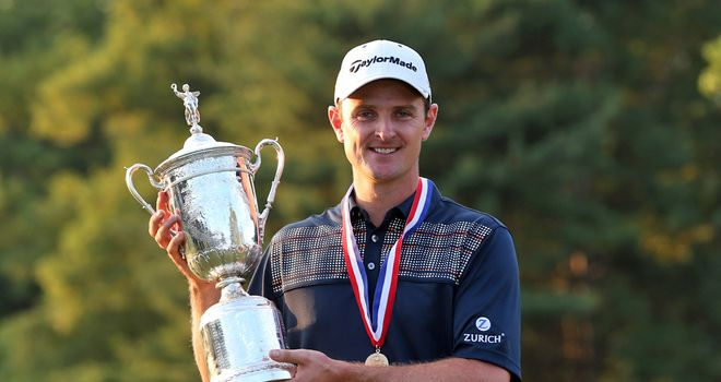 Justin Rose: Became England's first major champion since Nick Faldo when winning 2013 US Open