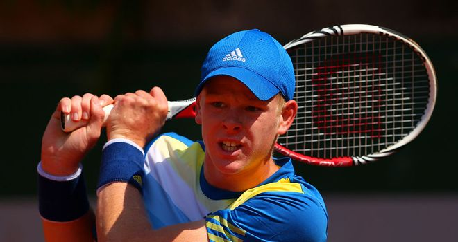 Kyle Edmund: Went out in three sets to German Alexander Zverev