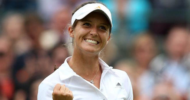 Robson: into round two with straight sets win over Kirilenko