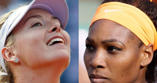 Maria Sharapova and Serena Williams clash in Saturday's final