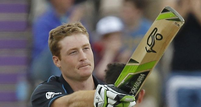 Martin Guptill: has scored 292 runs in two unbeaten NatWest Series knocks