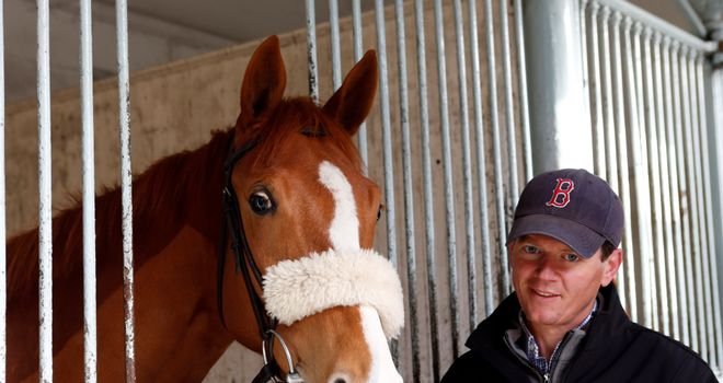 On Demand with trainer Andrew Balding