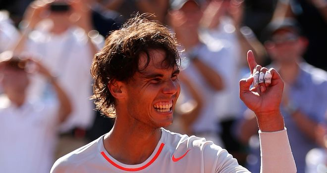 Rafael Nadal: Set to climb the rankings again after clay success