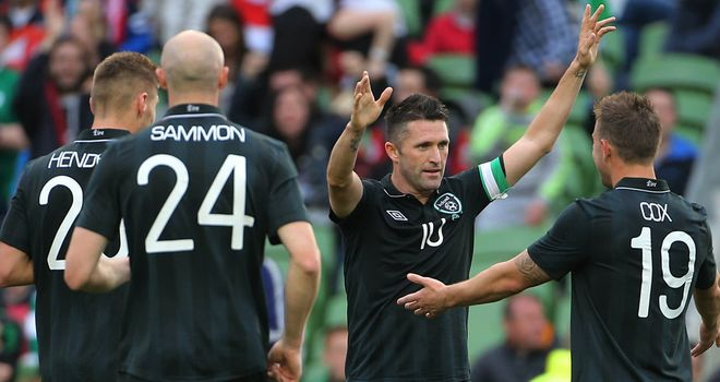 Robbie Keane: Gets the plaudits of boss Giovanni Trapattoni