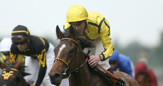 Rizeena: Faces seven rivals at Newmarket