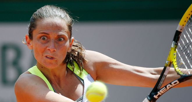 Roberta Vinci: Was broken four times but still had too much for Polona Hercog
