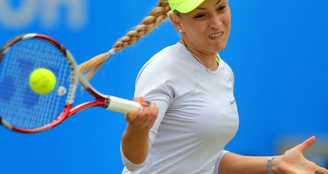 Donna Vekic: During Friday's rout of Sorana Cirstea in Birmingham