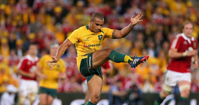 Will Genia: Suffered serious knee injury last year