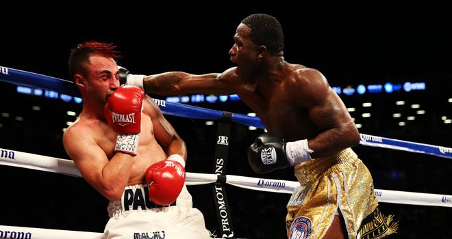 Adrien Broner (R): Won a world title at a third different weight