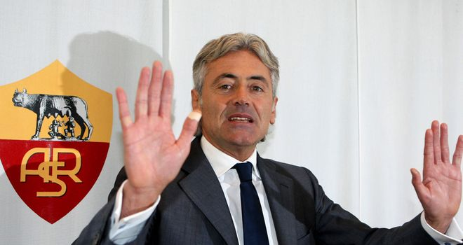 Franco Baldini: not taking the blame at Tottenham.