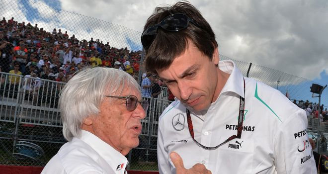 Bernie Ecclestone: Says Mercedes should have said no when asked to test