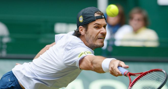 Tommy Haas: Broke crucially in the final set