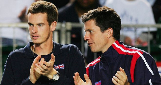 Tim Henman: Backed Andy Murray to do well at Wimbledon