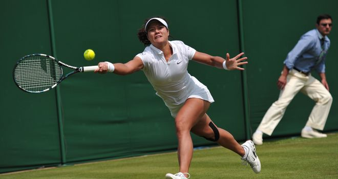 Li Na: dropped only two games during victory over Michaella Krajicek