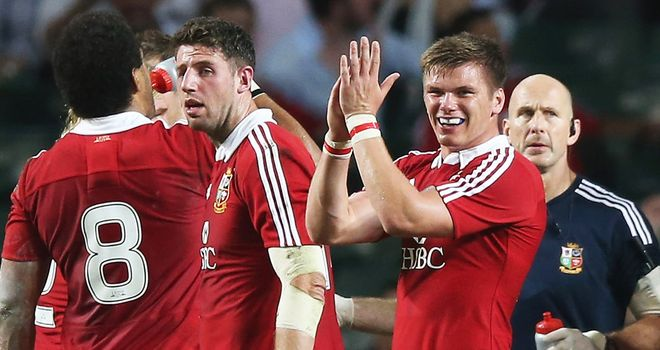 Owen Farrell: No bad blood between him and Schalk Brits