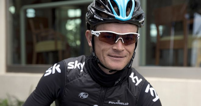 Kiryienka: Has gained a reputation for his workrate