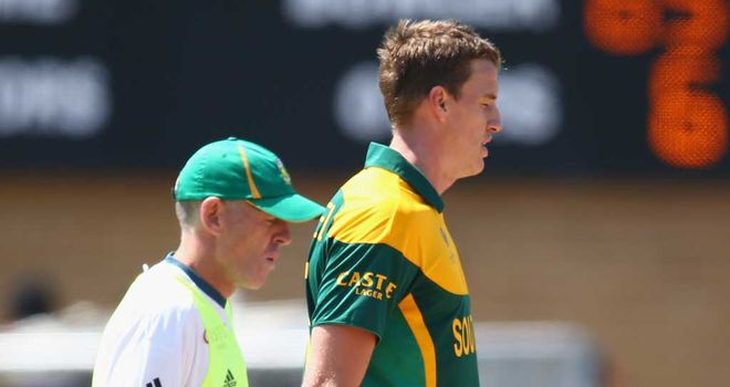 Morne Morkel: Suffered the injury in the opening game of the tournament