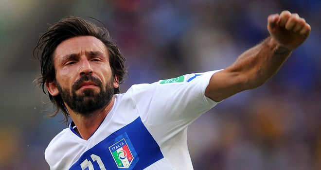 Andrea Pirlo: Scored his 13th international goal in Confederations Cup victory over Mexico