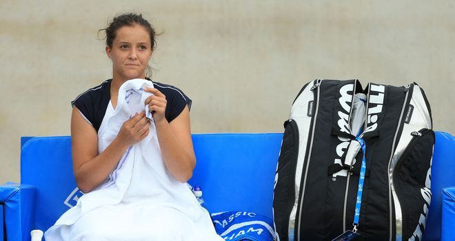 Laura Robson: Won just seven points on her second serve