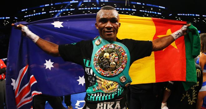 Sakio Bika: Won a world title after three previous failed attempts