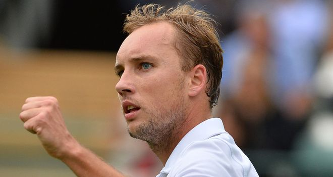 Steve Darcis: Produced huge shock as he beat Rafael Nadal on opening day