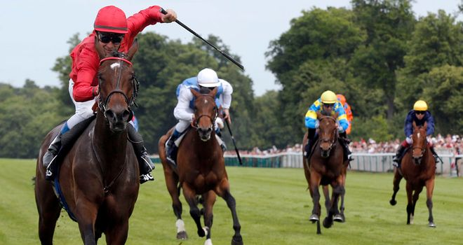 Treve: Hoping to state her case for the Arc