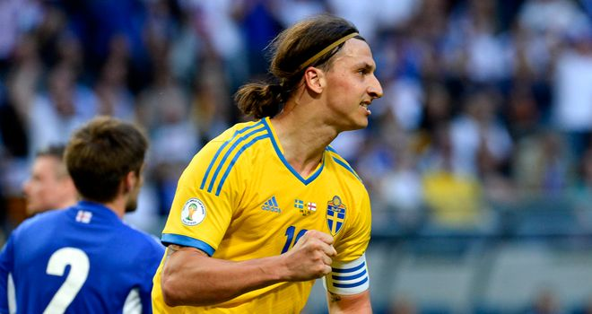 Zlatan Ibrahimovic was the two-goal hero