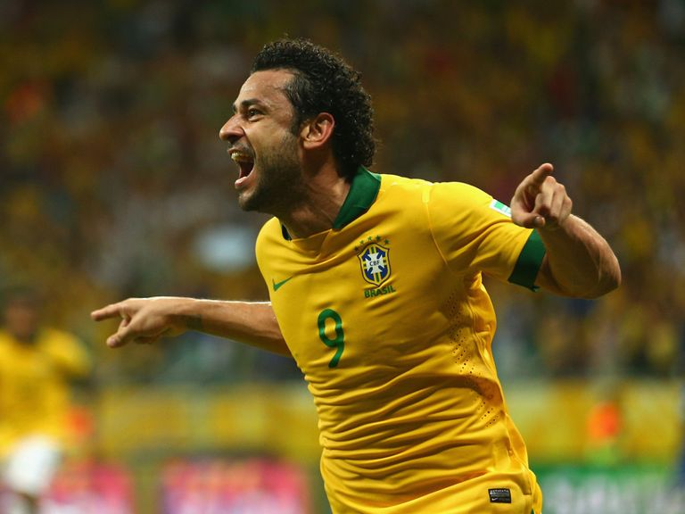 Fred: Outscored Neymar at last year's Confederations Cup