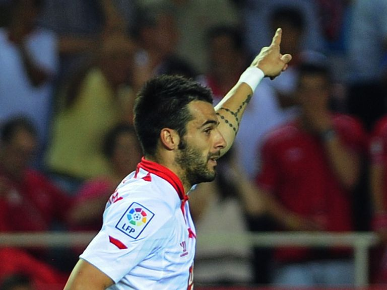 Alvaro Negredo: Could leave Sevilla this summer
