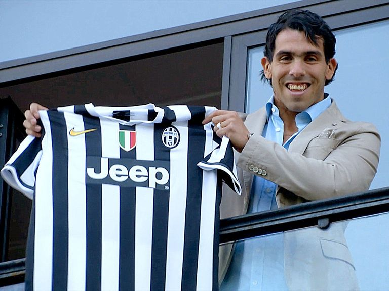 Tevez: Joined Juventus from Manchester City last month