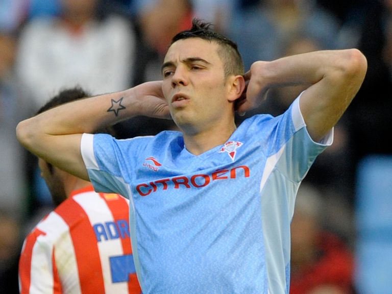 Iago Aspas: Expected to join Liverpool