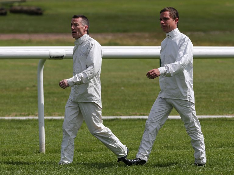 Dale Swift (right): Hoping to walk the 7.30 at Wolverhampton
