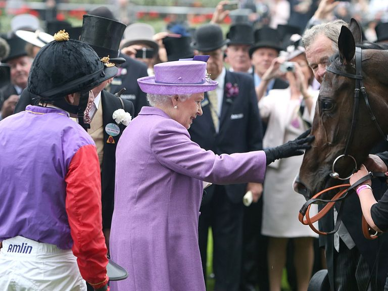 Memorable scenes following Estimate's win at Royal Ascot