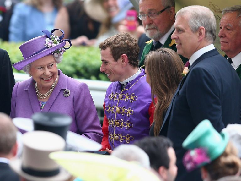The royal smile proves infectious