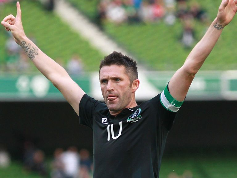 Robbie Keane will win his 126th cap against the Faroe Islands