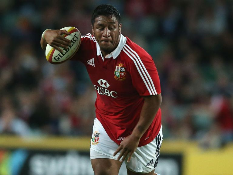 Mako Vunipola: Set to provide firepower from the bench