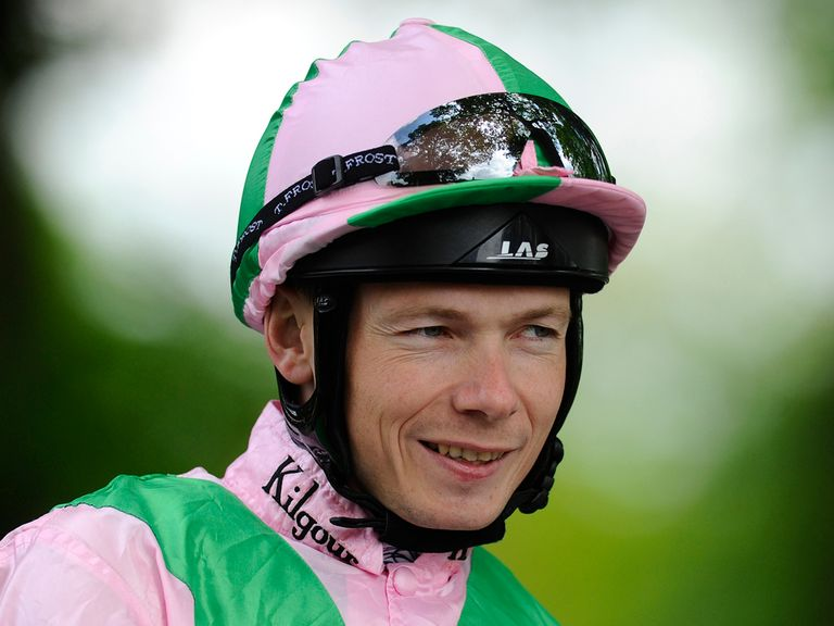 Jamie Spencer rides the nap selection