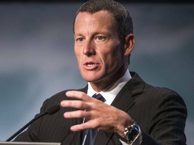 Lance Armstrong made the headlines for the wrong reasons