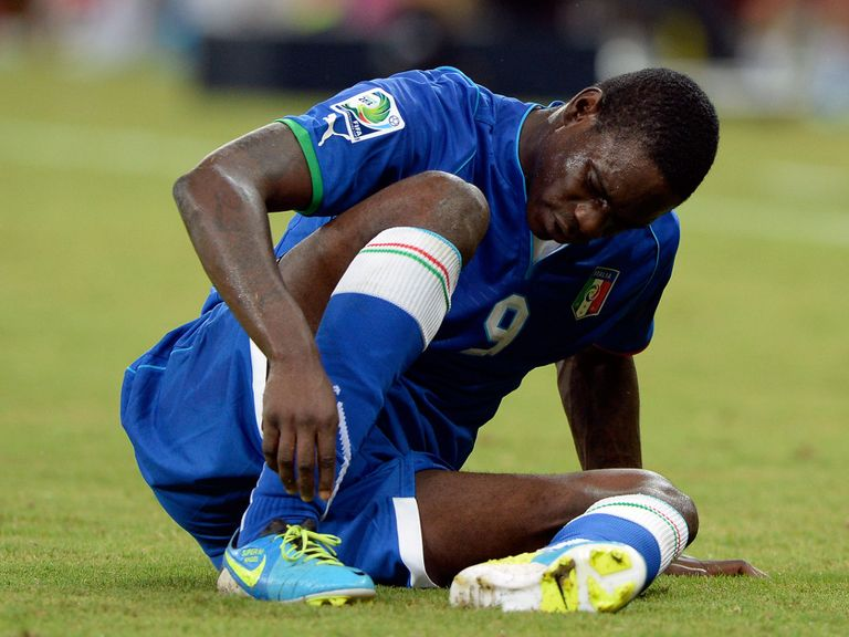 Mario Balotelli: Ruled out