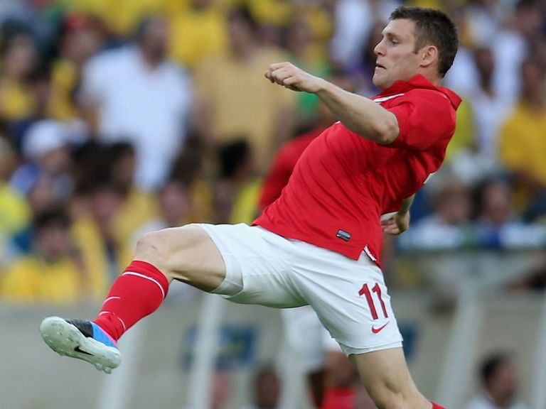 James Milner: Desperate to be part of World Cup finals in Brazil