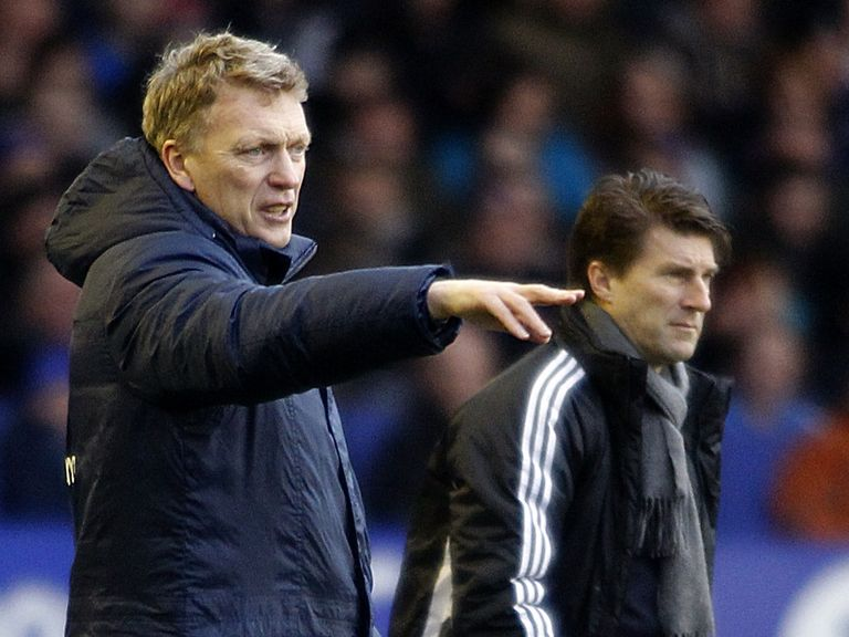David Moyes and Michael Laudrup meet on Saturday evening.