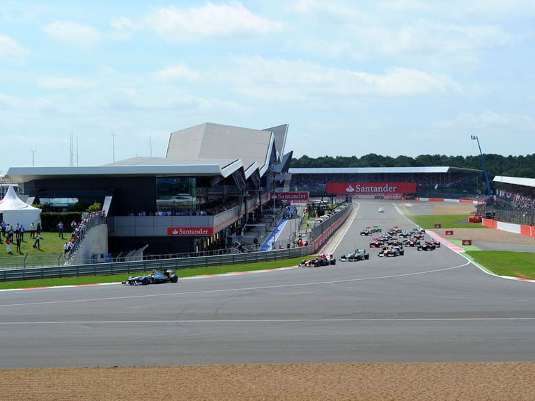 Silverstone hosts the British GP on July 6