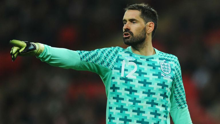 Scott Carson kept a clean sheet for Derby