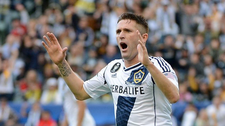 Robbie Keane: LA Galaxy striker is set to face Manchester United in July