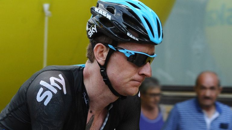 Bradley Wiggins found it 'too painful' to watch Tour de France